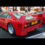 1990 Ferrari F40 Twin turbo V8 478bhp at 7000rpm (163bhp / liter) 424 lb-ft of torque at 4500rpm