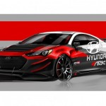 Hyundai Genesis Coupe R-Spec Track Edition by ARK Performance At 2012 SEMA Show