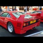 1990 Ferrari F40 Twin turbo V8 478bhp at 7000rpm (163bhp / liter) 424 lb-ft of torque at 4500rpm