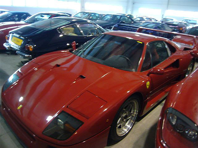 1990 Ferrari F40 One of only 1315 produced Twin turbo V8 (478hp)